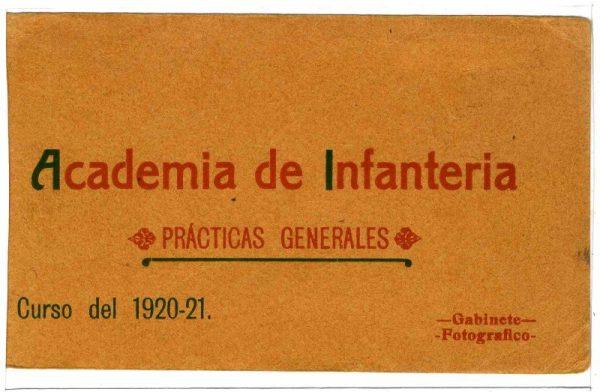 Cubierta Colección de Postales 1920-1921