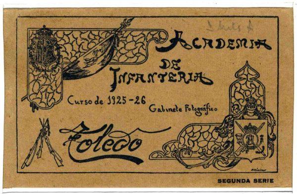 Cubierta Colección de Postales 1925-1926