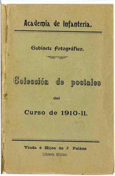 Cubierta Colección de Postales curso 1910-1911