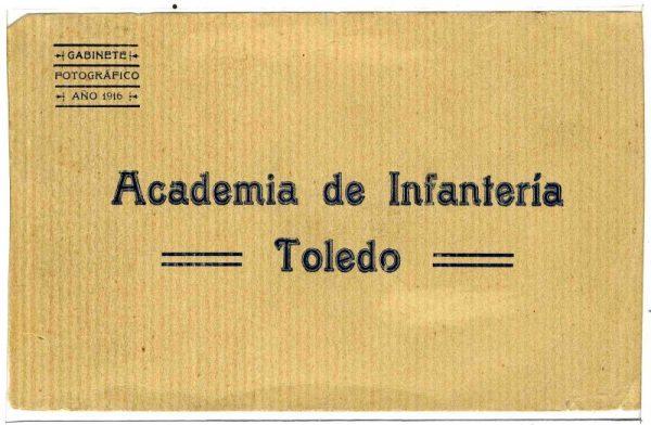 Cubierta Colección de Postales Curso 1916