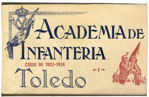 Cubierta Colección de Postales Curso 1923-1924,I