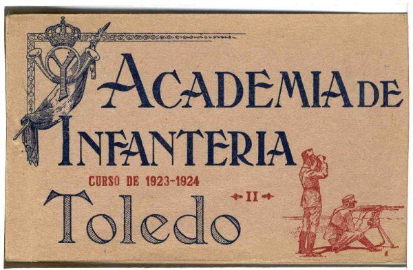 Cubierta Colección de Postales Curso 1923-1924,II