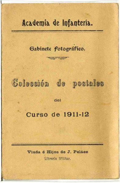 Curso colección de Postales curso 1911-1912