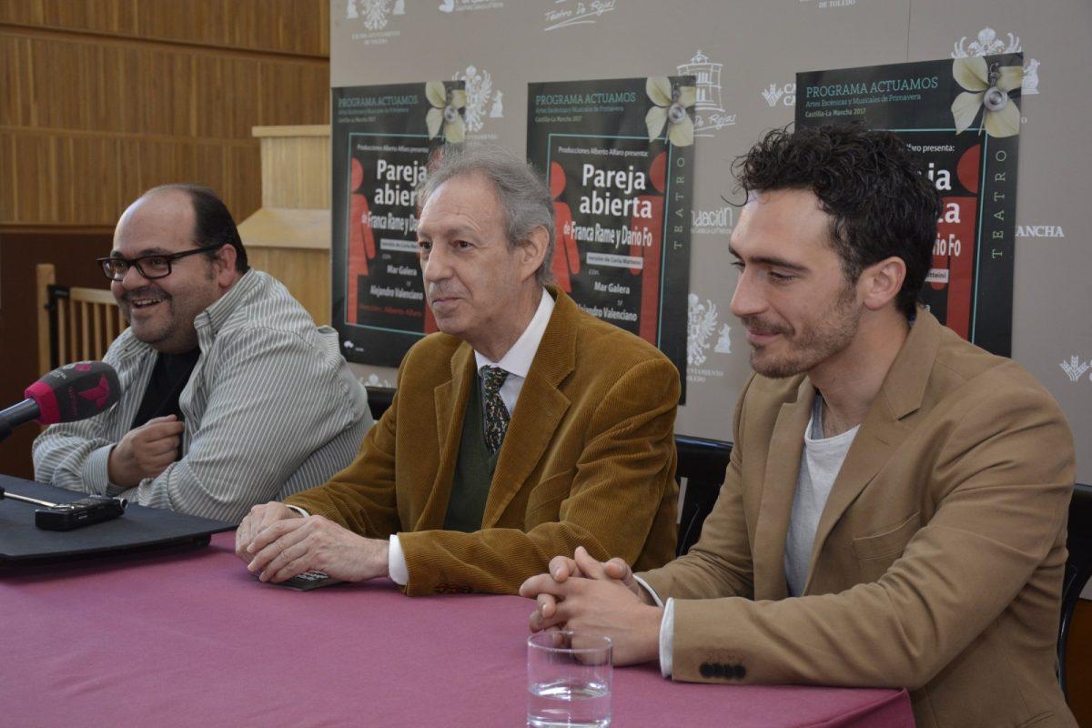 http://www.toledo.es/wp-content/uploads/2017/03/dsc1331-1200x800.jpg. El Rojas ofrece este viernes y sábado 'Pareja Abierta' una comedia social inteligente del Nobel Darío Fo y Franca Rame