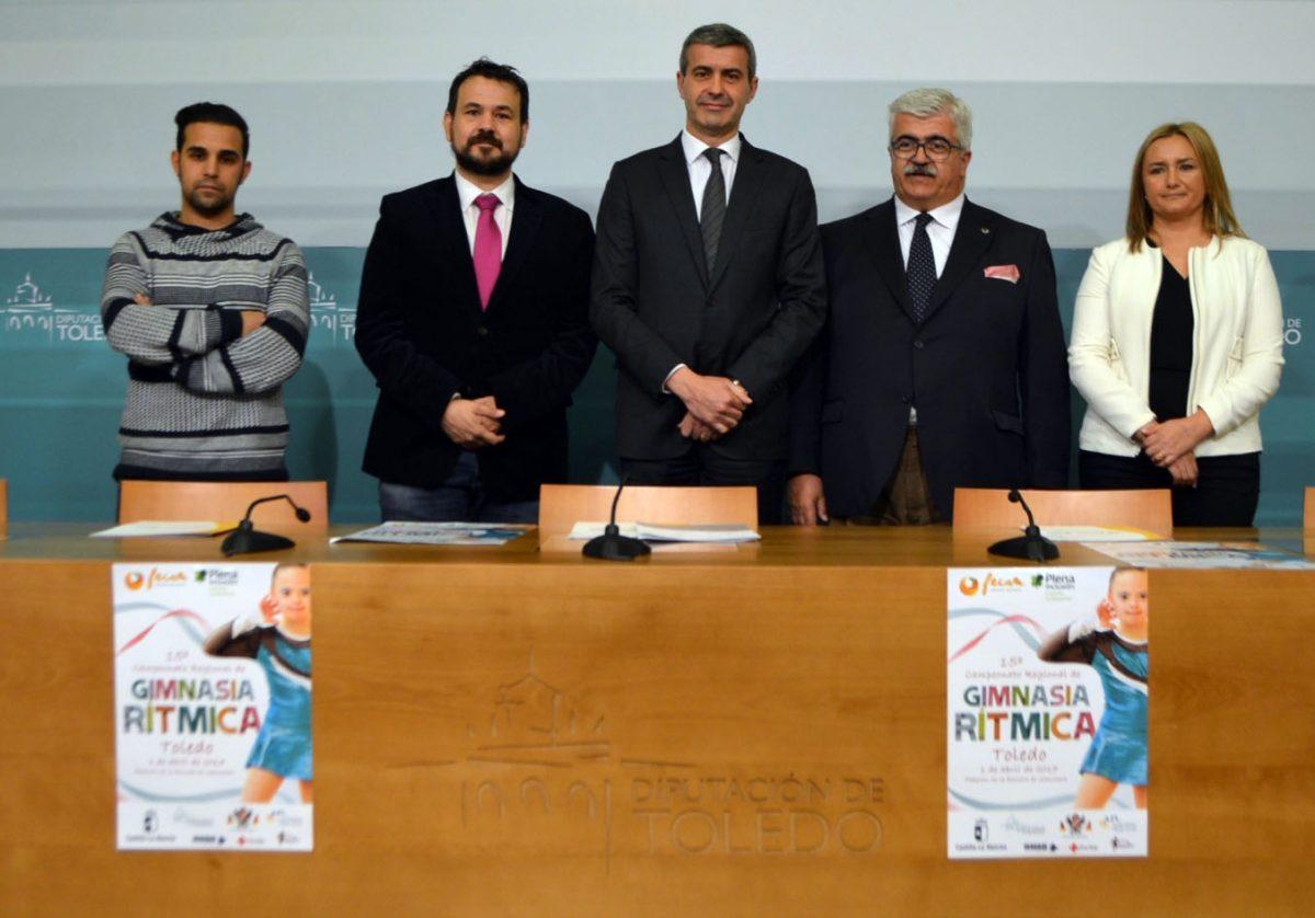 Toledo acogerá el próximo sábado el XV Campeonato Regional de Gimnasia Rítmica para personas con discapacidad intelectual