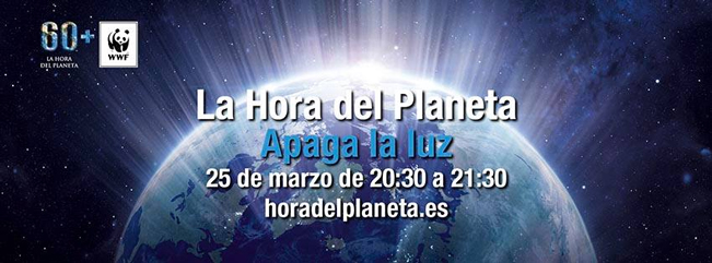 El Ayuntamiento se adhiere a la campaña la 'Hora del Planeta' que tendrá lugar este sábado día 25, de 20:30 a 21:30 horas