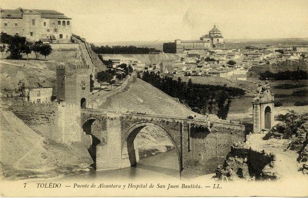 LEVY & SES FILS - 007 - Puente de Alcántara y Hospital de San Juan Bautista_ALBA-POSTAL- 2441