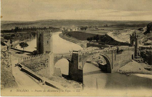 LEVY & SES FILS - 008 - Puente de Alcántara y la Vega_ALBA-POSTAL- 2442