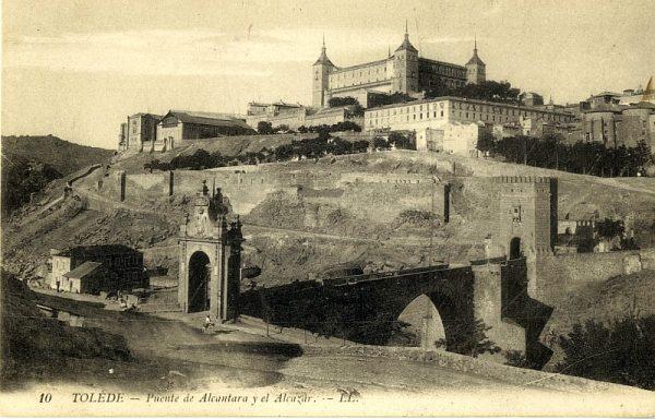 LEVY & SES FILS - 010 - Puente de Alcántara y el Alcázar_ALBA-POSTAL- 2445