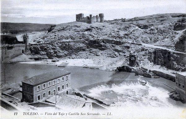 LEVY & SES FILS - 012 - Vista del Tajo y Castillo San Servando_ALBA-POSTAL- 2447