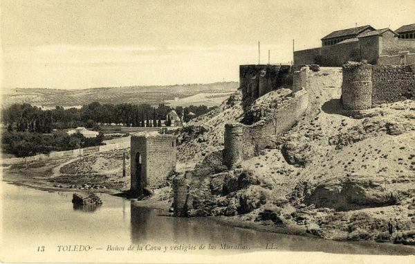 LEVY & SES FILS - 013 - Baños de la Cava y vestigios de las Murallas_ALBA-POSTAL- 2448