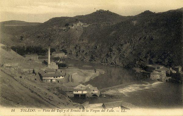 LEVY & SES FILS - 014 - Vista del Tajo y el Ermita de la Virgen del Valle_ALBA-POSTAL- 2449