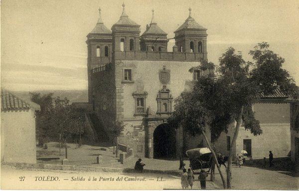 LEVY & SES FILS - 027 - Salida a la puerta del Cambrón_ALBA-POSTAL- 2458