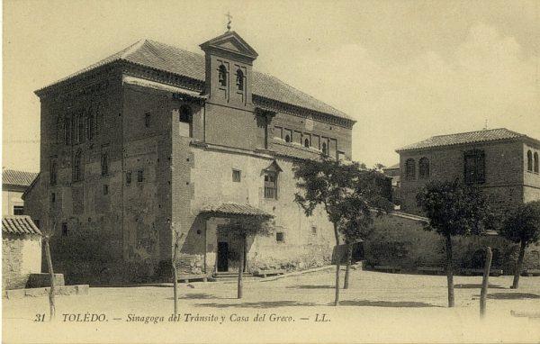LEVY & SES FILS - 031 - Sinagoga del Tránsito y Casa del Greco_ALBA-POSTAL- 2461