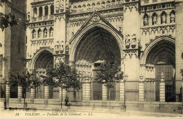 LEVY & SES FILS - 038 - Fachada de la Catedral_ALBA-POSTAL- 2467