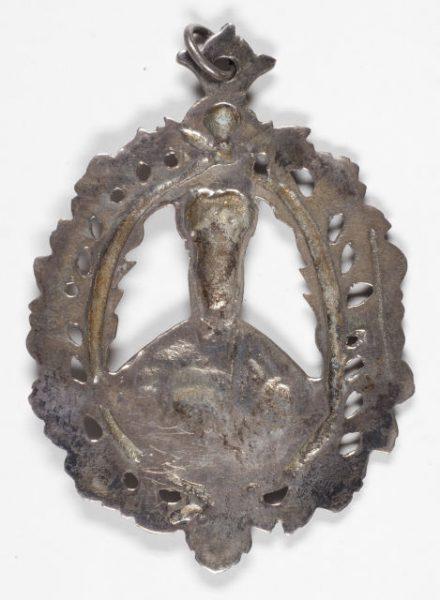 Luis Alba - Medalla de la Virgen del Sagrario - 010 reverso