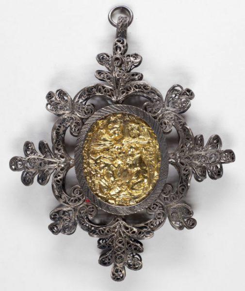 Luis Alba - Medalla de la Virgen del Sagrario - 013 reverso