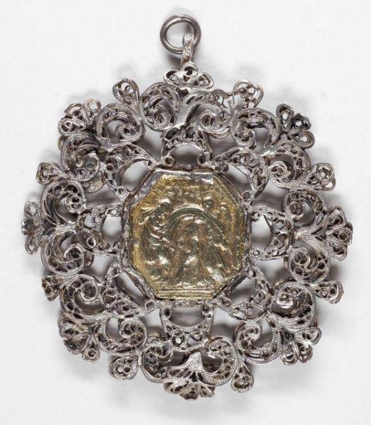 Luis Alba - Medalla de la Virgen del Sagrario - 014 reverso