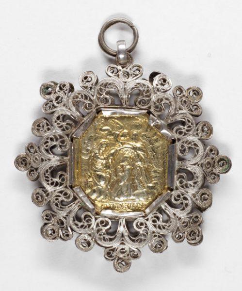 Luis Alba - Medalla de la Virgen del Sagrario - 016 reverso