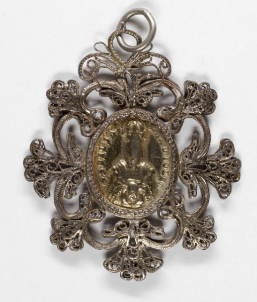 Luis Alba - Medalla de la Virgen del Sagrario - 017 anverso