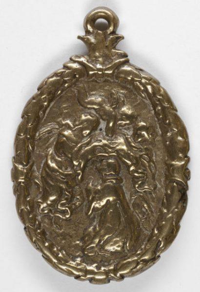 Luis Alba - Medalla de la Virgen del Sagrario - 036 reverso