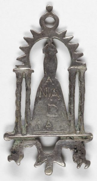 Luis Alba - Medalla de la Virgen del Sagrario - 040 reverso