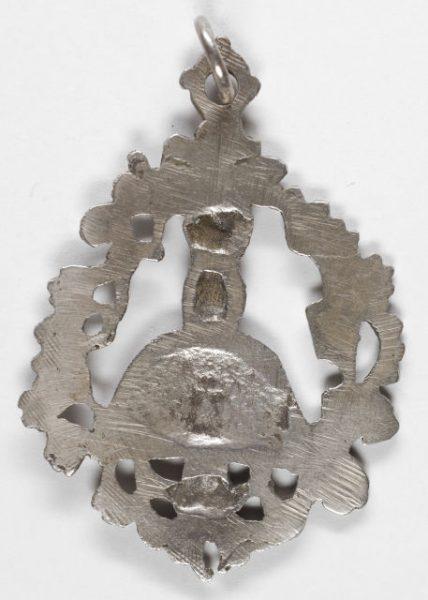 Luis Alba - Medalla de la Virgen del Sagrario - 048 reverso