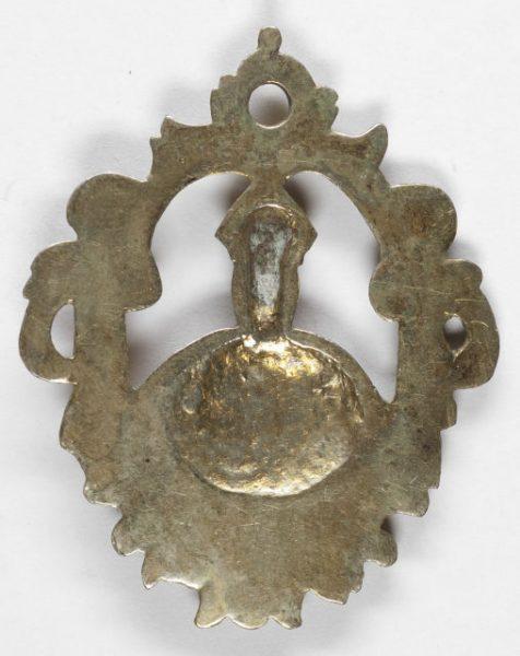 Luis Alba - Medalla de la Virgen del Sagrario - 050 reverso