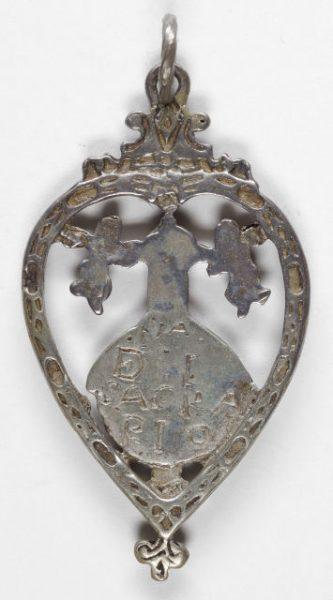 Luis Alba - Medalla de la Virgen del Sagrario - 052 reverso