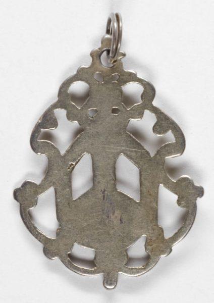 Luis Alba - Medalla de la Virgen del Sagrario - 055 reverso