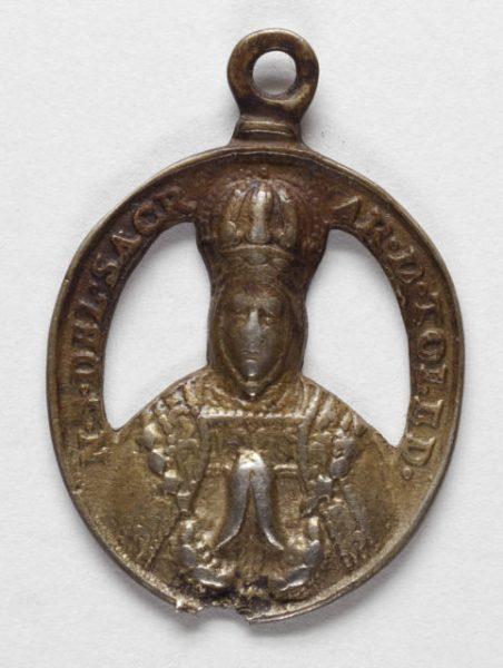 Luis Alba - Medalla de la Virgen del Sagrario - 068 anverso