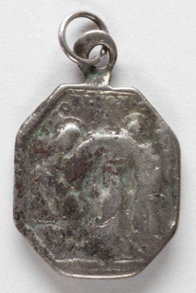 Luis Alba - Medalla de la Virgen del Sagrario - 082 reverso