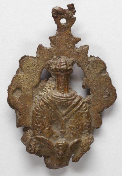 Luis Alba - Medalla de la Virgen del Sagrario - 085 reverso