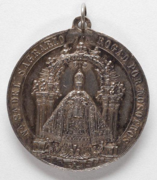 Luis Alba - Medalla de la Virgen del Sagrario - 093 anverso