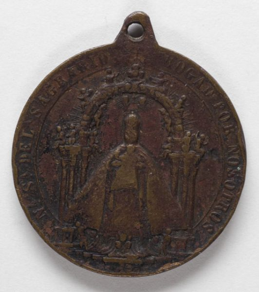 Luis Alba - Medalla de la Virgen del Sagrario - 094 anverso