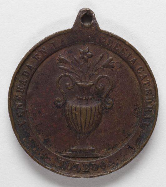 Luis Alba - Medalla de la Virgen del Sagrario - 094 reverso