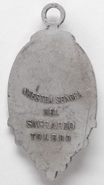 Luis Alba - Medalla de la Virgen del Sagrario - 096 reverso