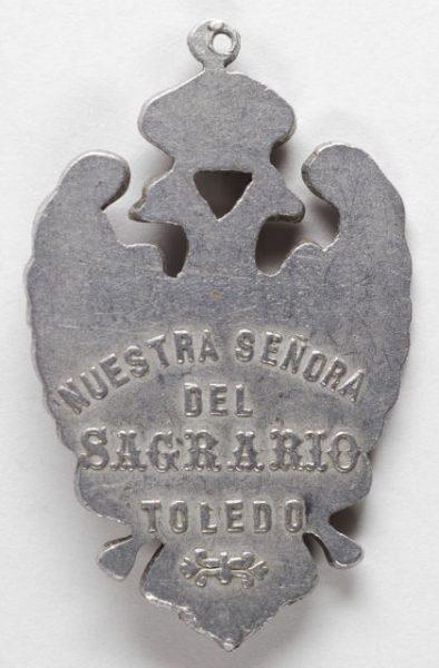 Luis Alba - Medalla de la Virgen del Sagrario - 097 reverso