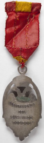 Luis Alba - Medalla de la Virgen del Sagrario - 098 reverso