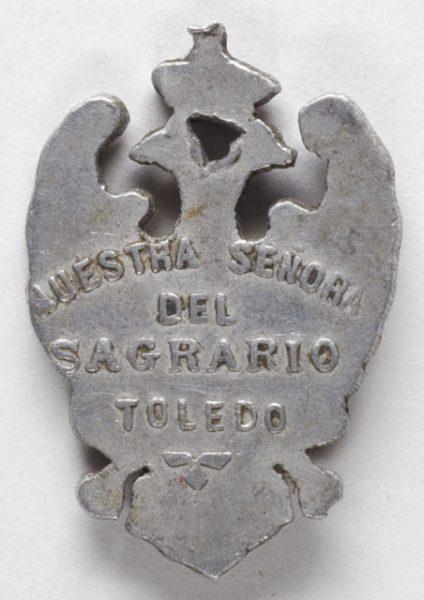 Luis Alba - Medalla de la Virgen del Sagrario - 100 reverso