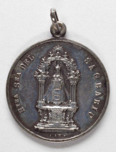 Luis Alba - Medalla de la Virgen del Sagrario - 101 anverso