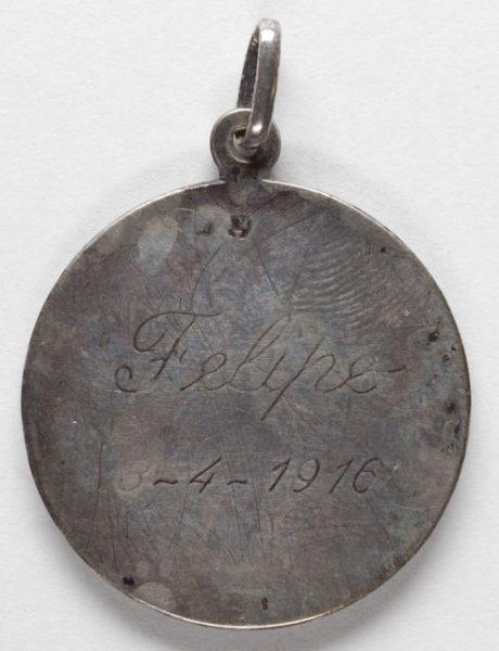 Luis Alba - Medalla de la Virgen del Sagrario - 101 reverso