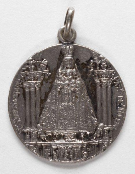 Luis Alba - Medalla de la Virgen del Sagrario - 102 anverso