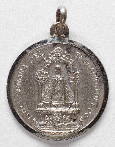 Luis Alba - Medalla de la Virgen del Sagrario - 103 anverso