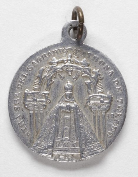 Luis Alba - Medalla de la Virgen del Sagrario - 104 anverso