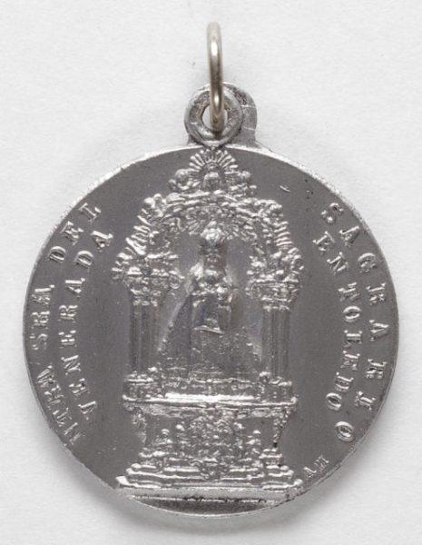 Luis Alba - Medalla de la Virgen del Sagrario - 105 anverso