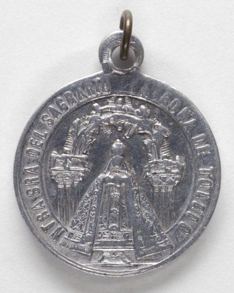 Luis Alba - Medalla de la Virgen del Sagrario - 106 anverso
