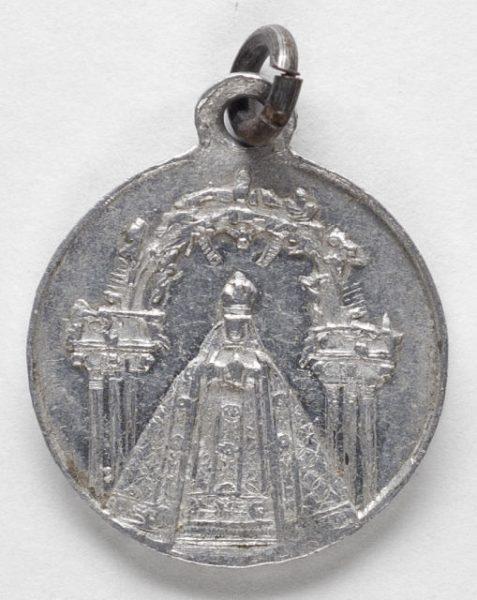 Luis Alba - Medalla de la Virgen del Sagrario - 108 anverso