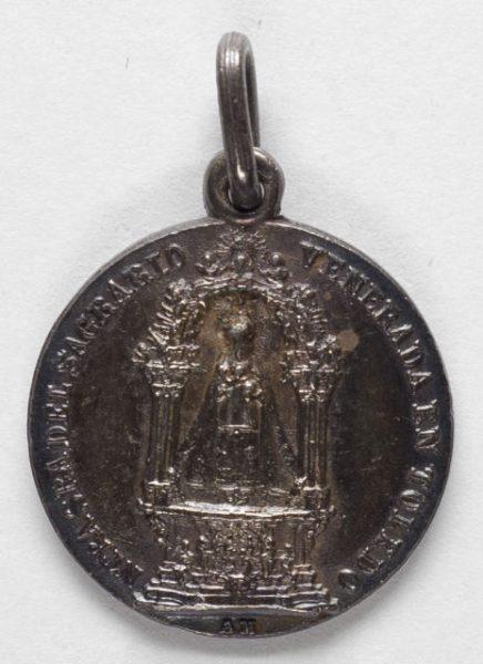Luis Alba - Medalla de la Virgen del Sagrario - 109 anverso