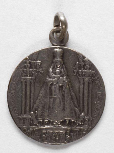 Luis Alba - Medalla de la Virgen del Sagrario - 111 anverso